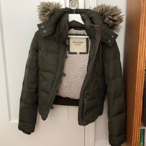 Abercrombie & Fitch Winter Coat